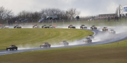 Caterham, Race, Donington Park, Wet, Craner